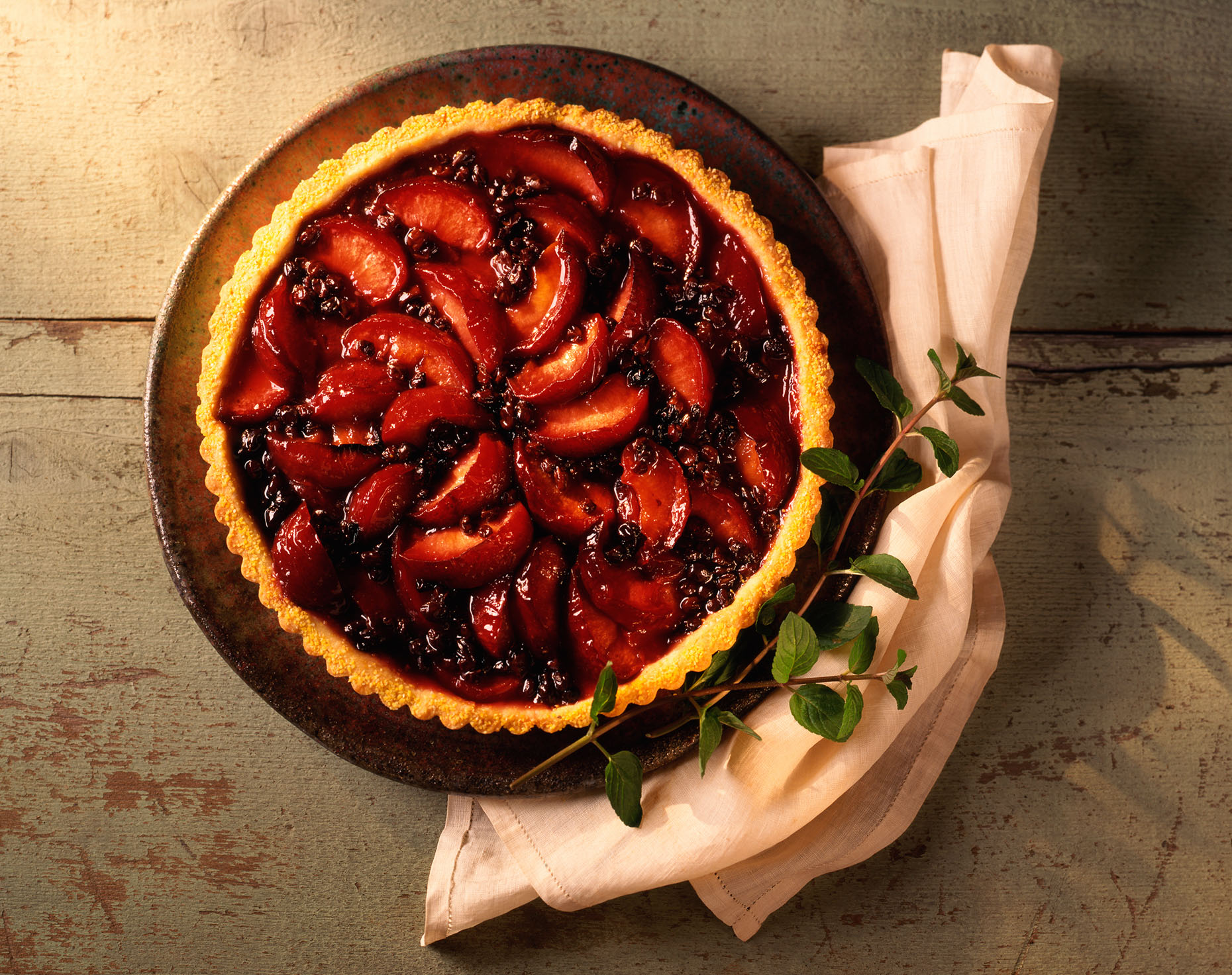 Cornmeal_Tart_w_Plums_Currants